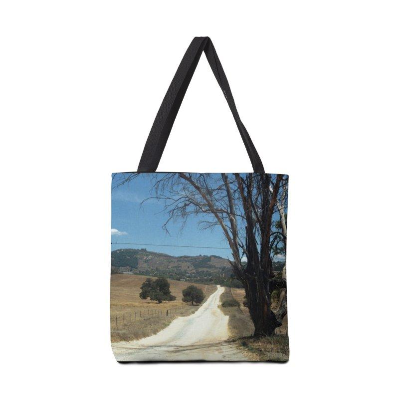 Dusty Road Accessories Bag by zoegleitsman's Artist Shop