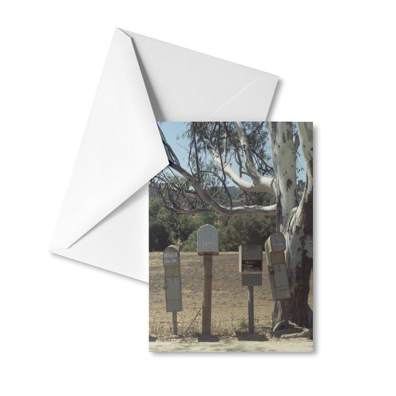 San Diego Mailboxes Accessories Greeting Card by zoegleitsman's Artist Shop