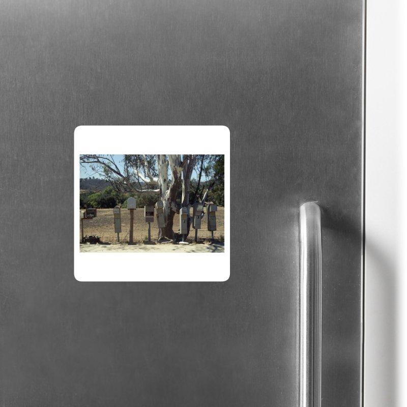 San Diego Mailboxes Accessories Magnet by zoegleitsman's Artist Shop