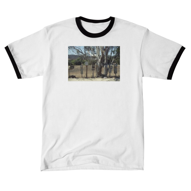 San Diego Mailboxes Men's T-Shirt by zoegleitsman's Artist Shop