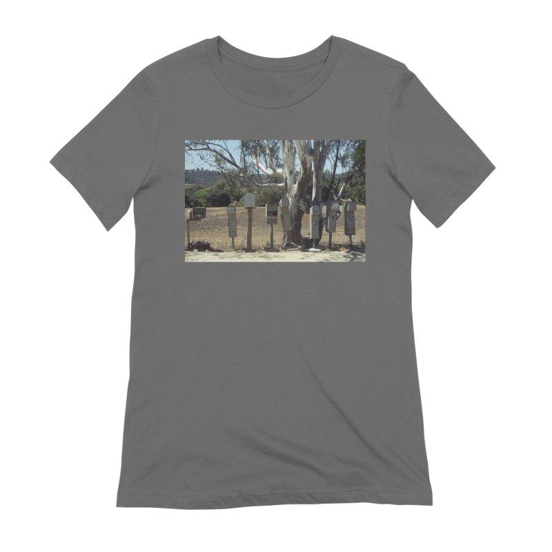San Diego Mailboxes Women's T-Shirt by zoegleitsman's Artist Shop
