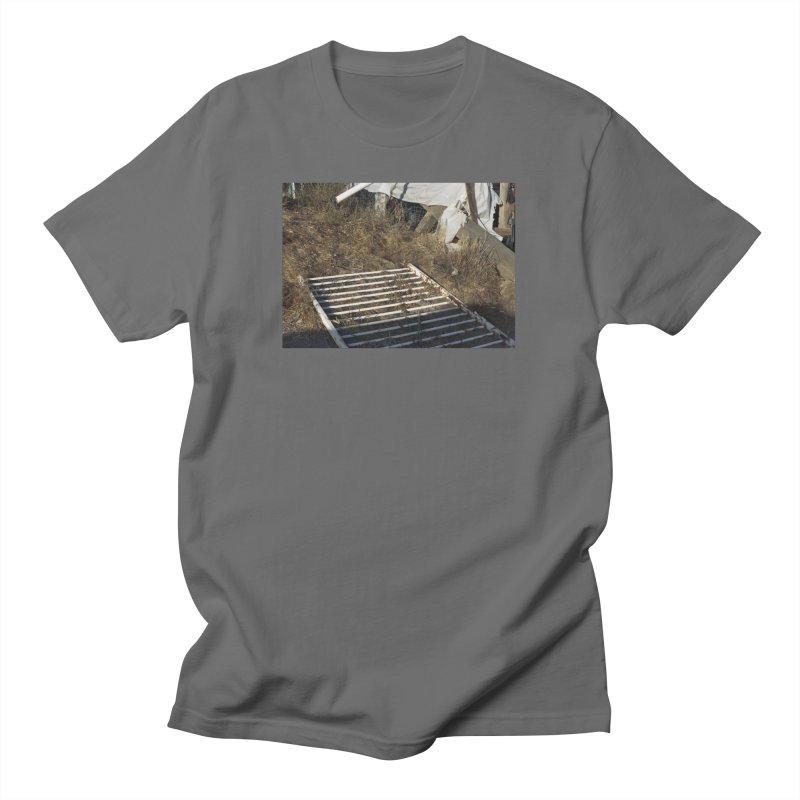 Discards in the Weeds Men's T-Shirt by zoegleitsman's Artist Shop