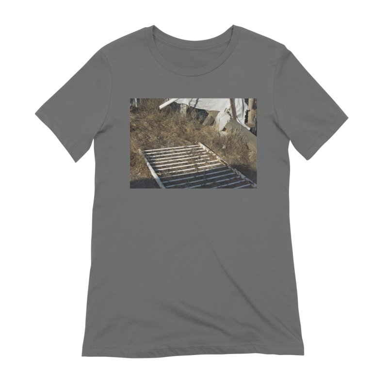 Discards in the Weeds Women's T-Shirt by zoegleitsman's Artist Shop
