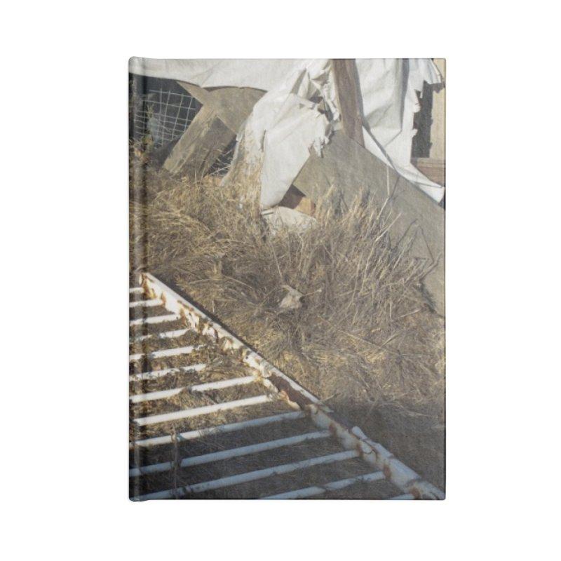Discards in the Weeds Accessories Notebook by zoegleitsman's Artist Shop