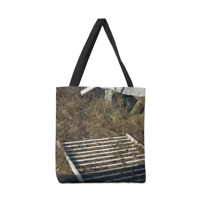 Discards in the Weeds Accessories Bag by zoegleitsman's Artist Shop