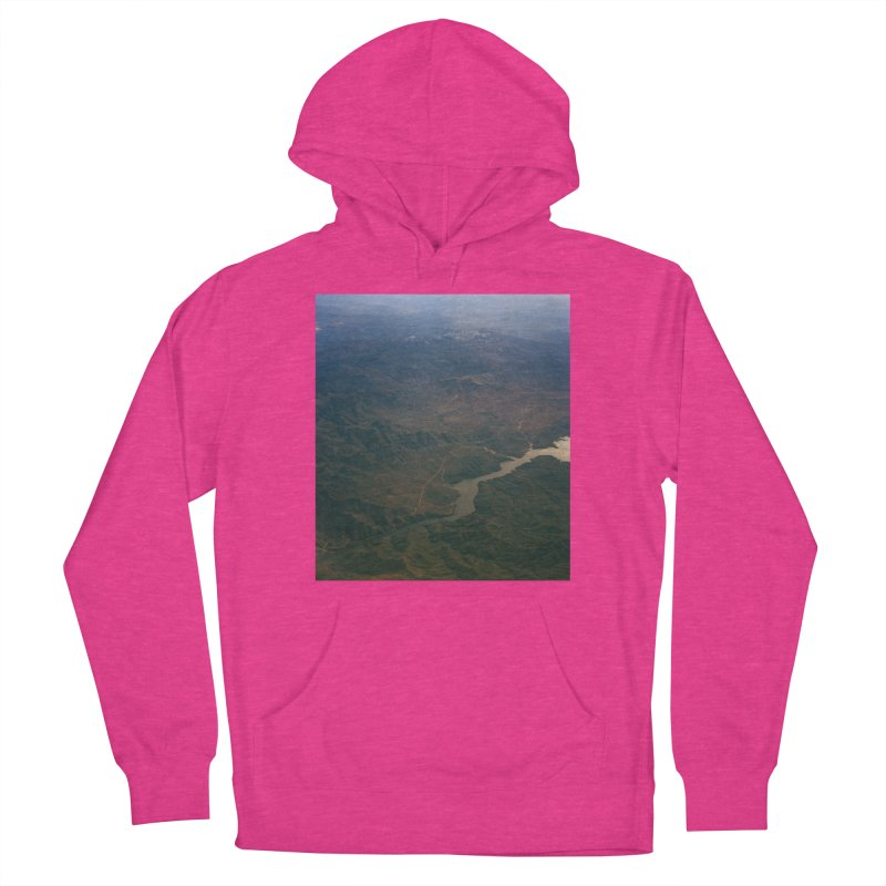 Mountainscape From the Plane Men's Pullover Hoody by zoegleitsman's Artist Shop