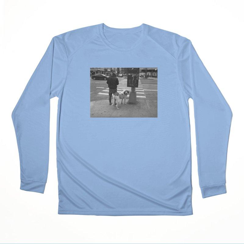 Dog Walk Women's Longsleeve T-Shirt by zoegleitsman's Artist Shop