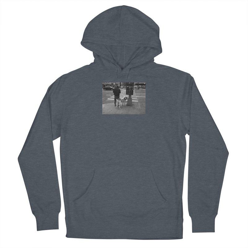 Dog Walk Men's Pullover Hoody by zoegleitsman's Artist Shop
