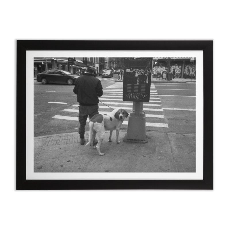 Dog Walk Home Framed Fine Art Print by zoegleitsman's Artist Shop