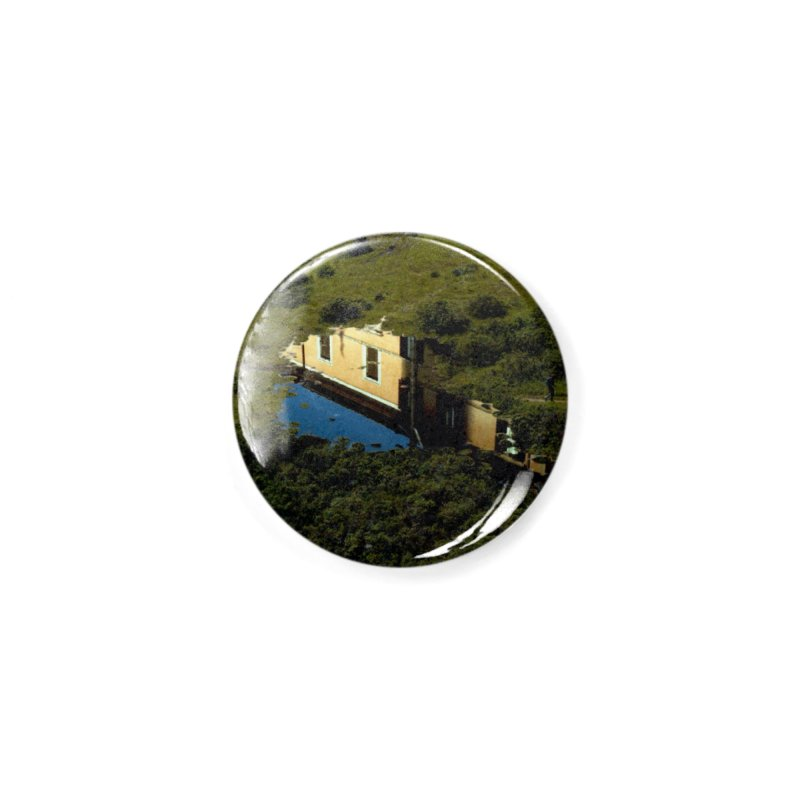 Puddle in a Mountain (Collage#1) Accessories Button by zoegleitsman's Artist Shop