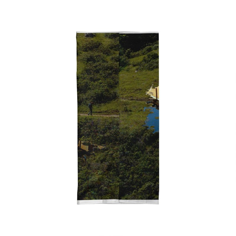 Puddle in a Mountain (Collage#1) Accessories Neck Gaiter by zoegleitsman's Artist Shop