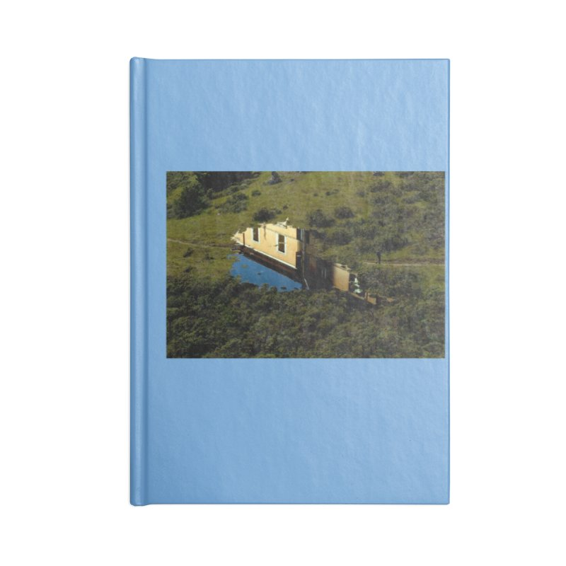 Puddle in a Mountain (Collage#1) Accessories Notebook by zoegleitsman's Artist Shop