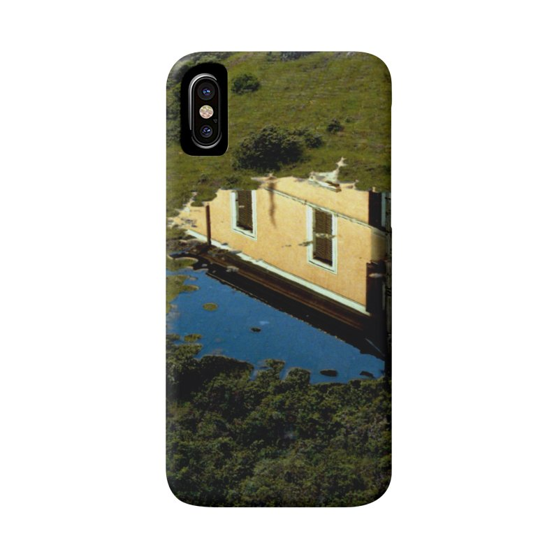 Puddle in a Mountain (Collage#1) Accessories Phone Case by zoegleitsman's Artist Shop
