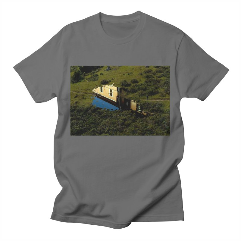 Puddle in a Mountain (Collage#1) Women's T-Shirt by zoegleitsman's Artist Shop