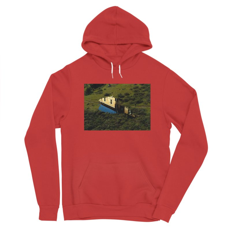 Puddle in a Mountain (Collage#1) Men's Pullover Hoody by zoegleitsman's Artist Shop