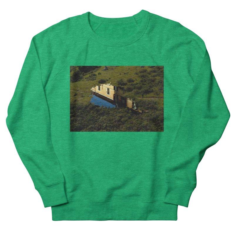 Puddle in a Mountain (Collage#1) Women's Sweatshirt by zoegleitsman's Artist Shop