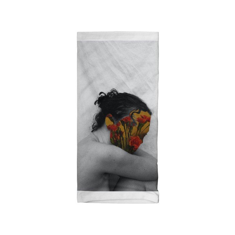 Flower Face (Collage#2) Accessories Neck Gaiter by zoegleitsman's Artist Shop