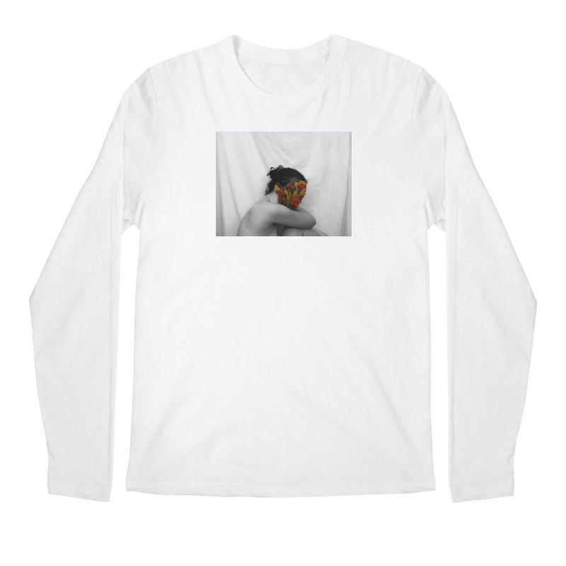 Flower Face (Collage#2) Men's Longsleeve T-Shirt by zoegleitsman's Artist Shop