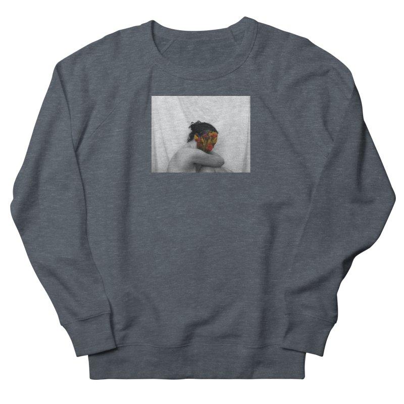 Flower Face (Collage#2) Men's Sweatshirt by zoegleitsman's Artist Shop