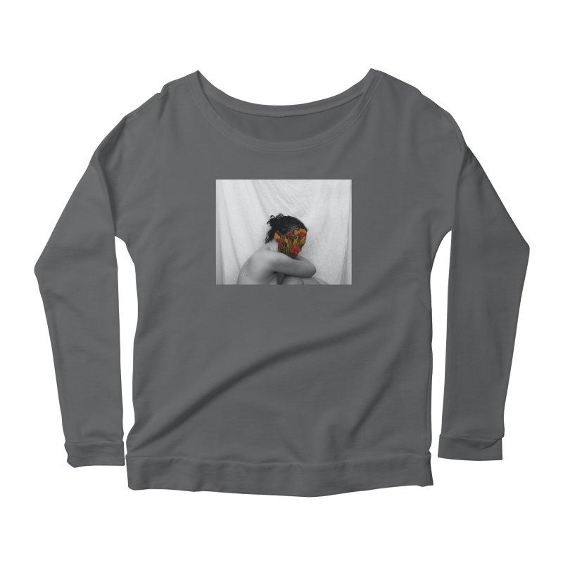 Flower Face (Collage#2) Women's Longsleeve T-Shirt by zoegleitsman's Artist Shop