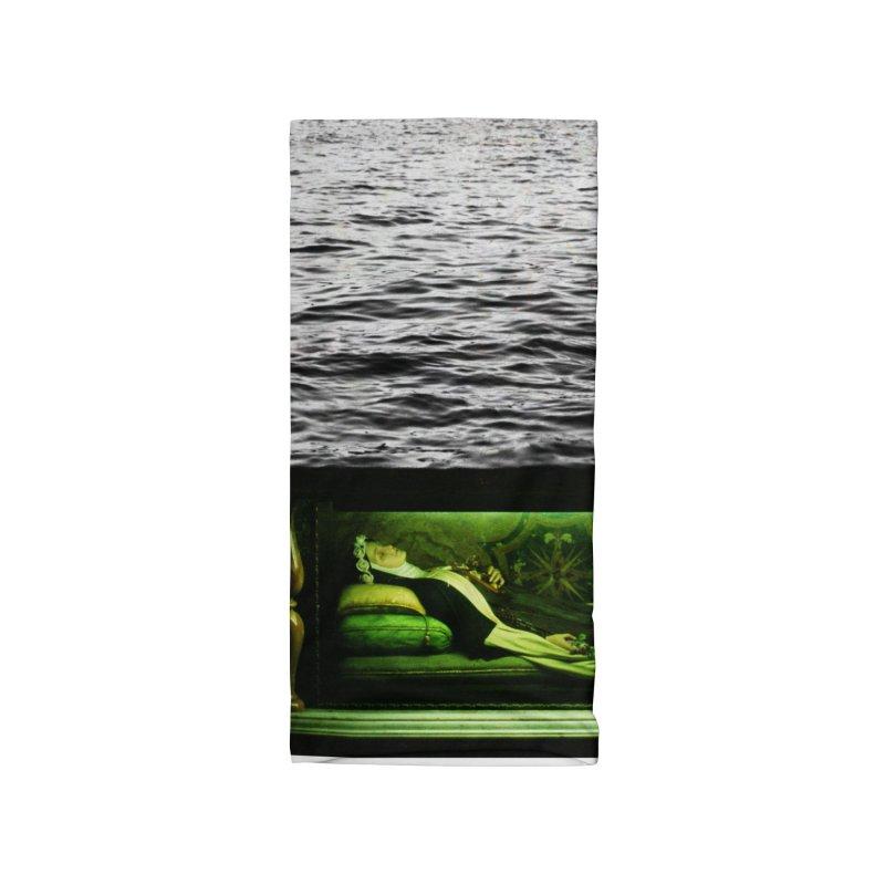 Sleeping Saint in the Water (Collage #3) Accessories Neck Gaiter by zoegleitsman's Artist Shop