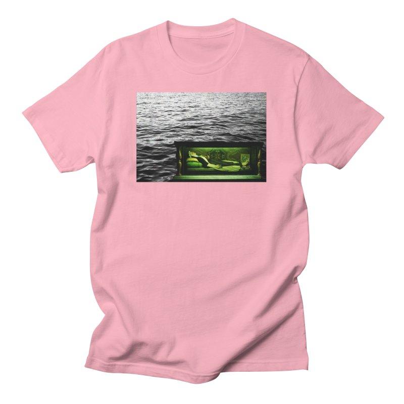 Sleeping Saint in the Water (Collage #3) Men's T-Shirt by zoegleitsman's Artist Shop