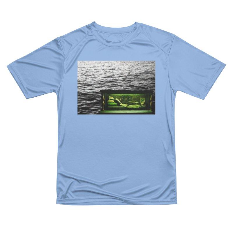 Sleeping Saint in the Water (Collage #3) Women's T-Shirt by zoegleitsman's Artist Shop