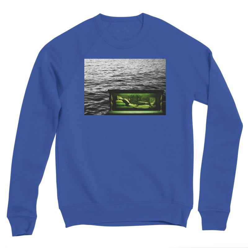 Sleeping Saint in the Water (Collage #3) Women's Sweatshirt by zoegleitsman's Artist Shop