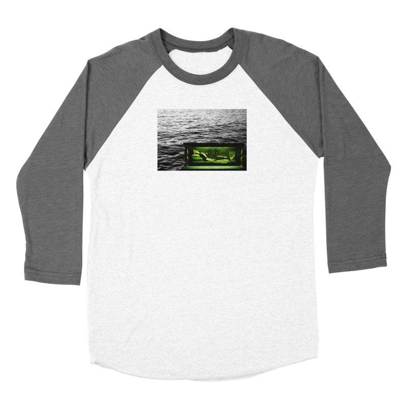 Sleeping Saint in the Water (Collage #3) Women's Longsleeve T-Shirt by zoegleitsman's Artist Shop
