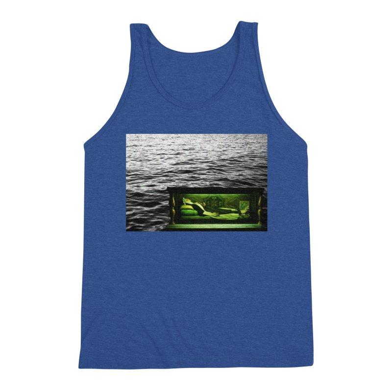 Sleeping Saint in the Water (Collage #3) Men's Tank by zoegleitsman's Artist Shop