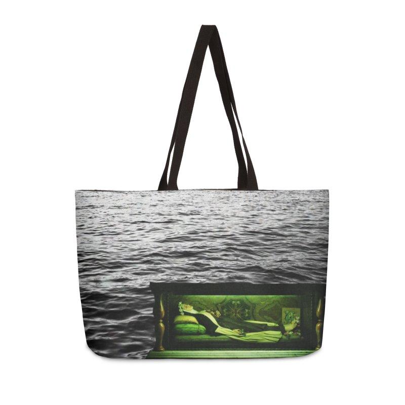 Sleeping Saint in the Water (Collage #3) Accessories Bag by zoegleitsman's Artist Shop