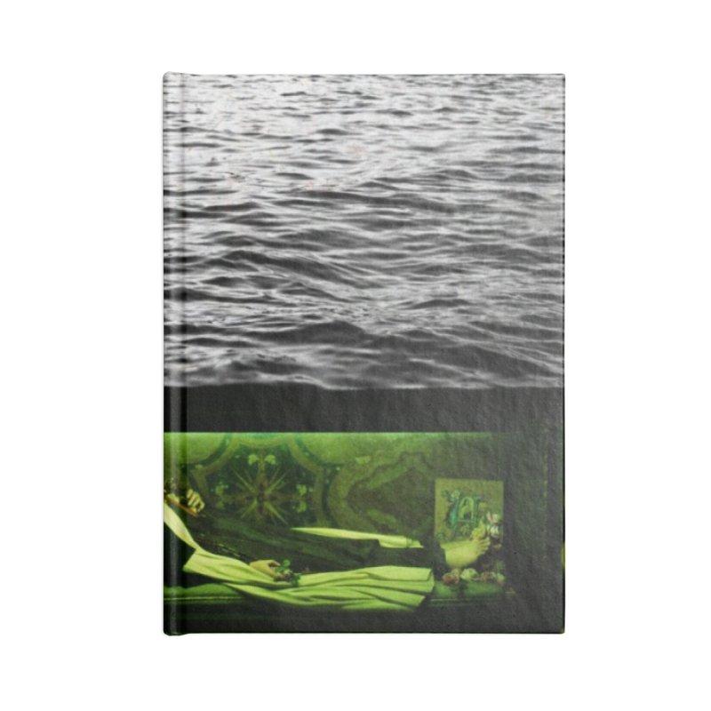 Sleeping Saint in the Water (Collage #3) Accessories Notebook by zoegleitsman's Artist Shop