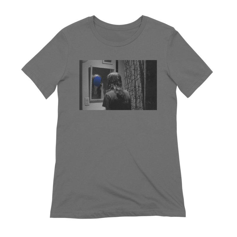 Ocean Mirror (Collage #4) Women's T-Shirt by zoegleitsman's Artist Shop