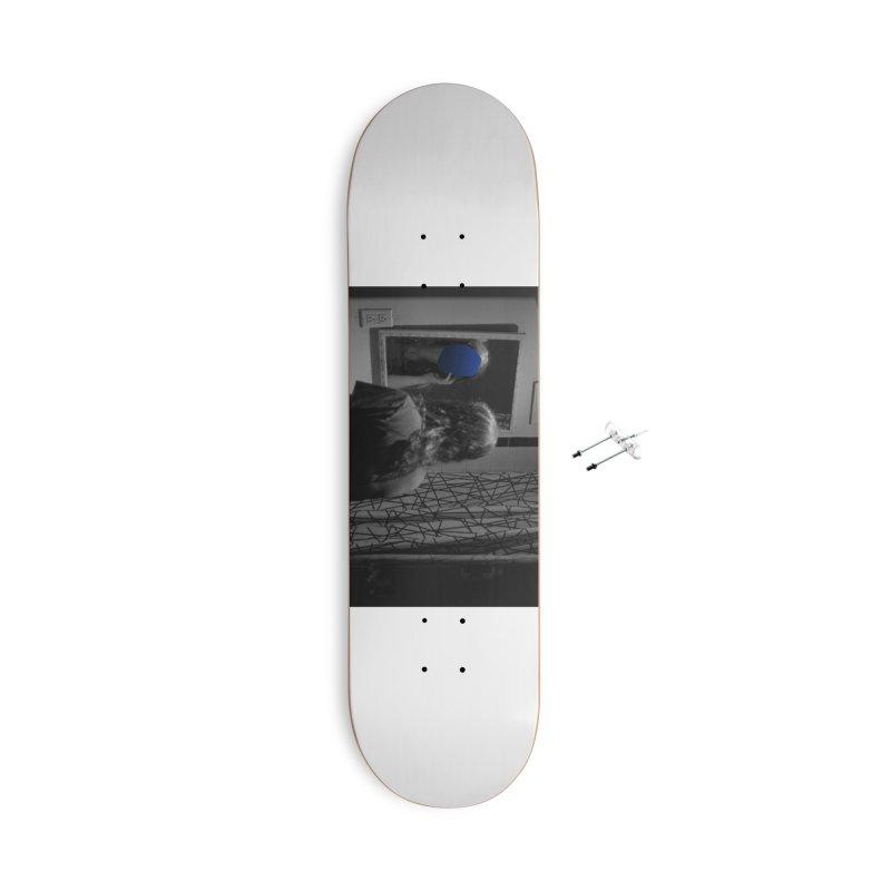 Ocean Mirror (Collage #4) Accessories Skateboard by zoegleitsman's Artist Shop