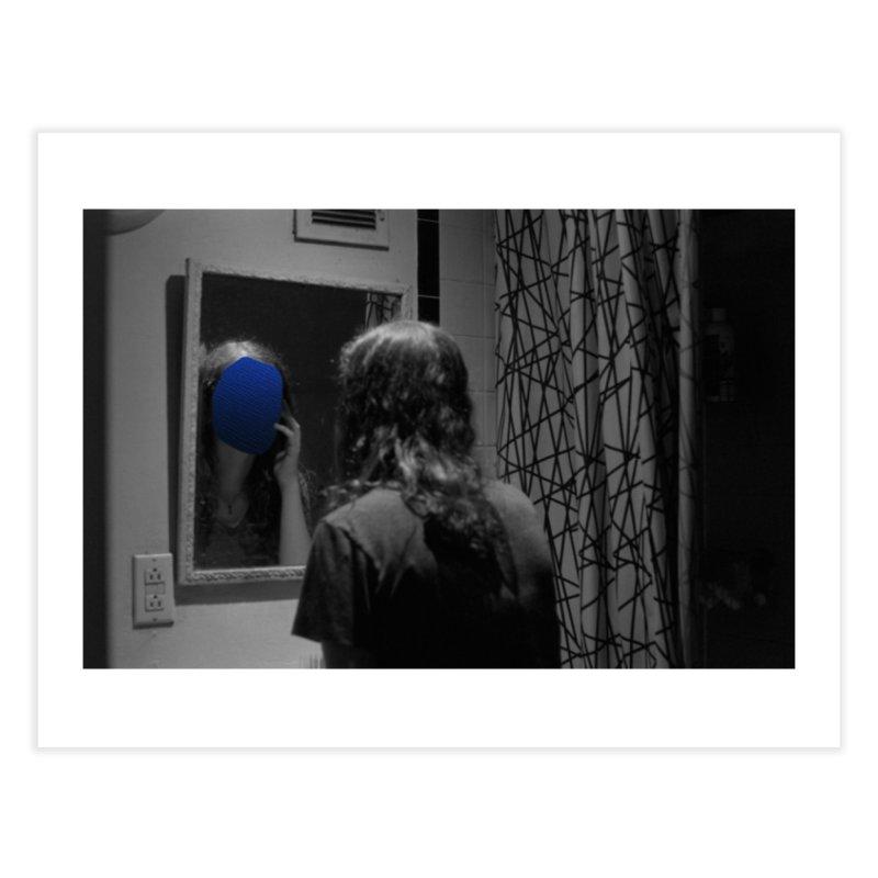 Ocean Mirror (Collage #4) Home Fine Art Print by zoegleitsman's Artist Shop