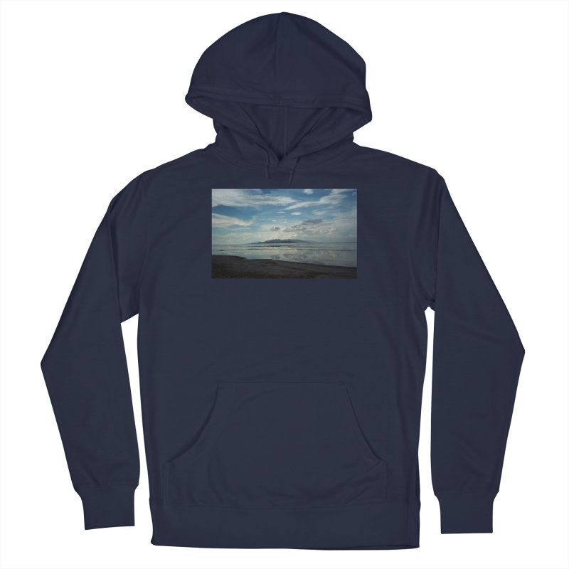 Clouds Over the Great Salt Lake Men's Pullover Hoody by zoegleitsman's Artist Shop
