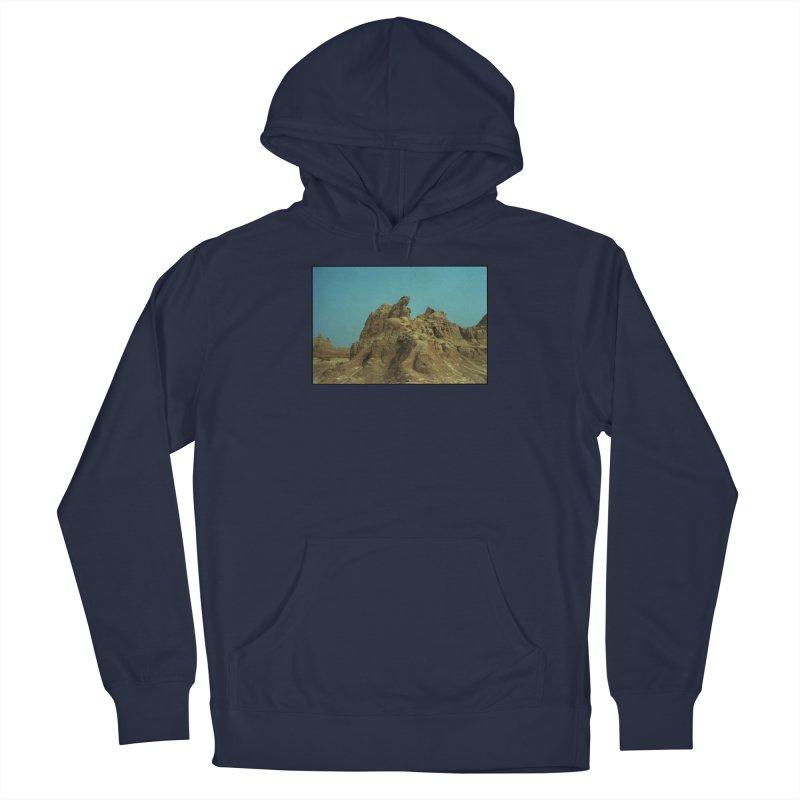 Badlands Men's Pullover Hoody by zoegleitsman's Artist Shop
