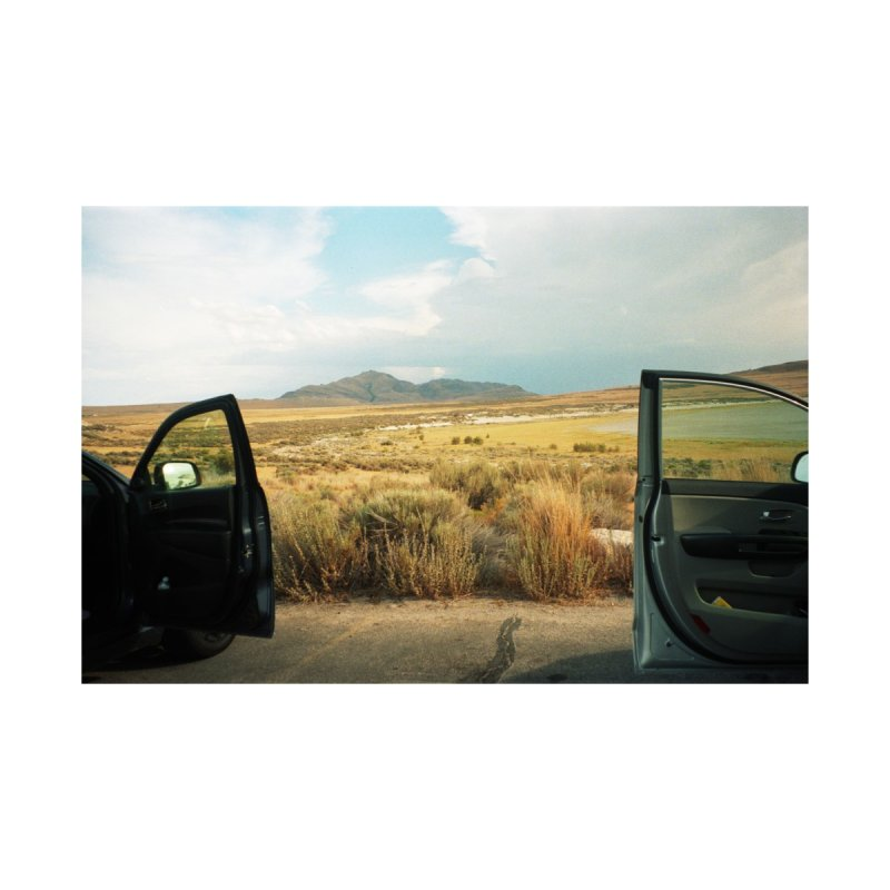 Car Doors in the Desert Accessories Bag by zoegleitsman's Artist Shop
