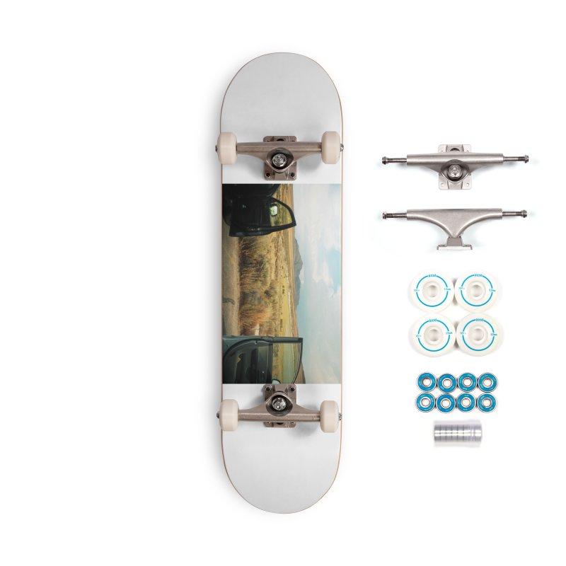 Car Doors in the Desert Accessories Skateboard by zoegleitsman's Artist Shop