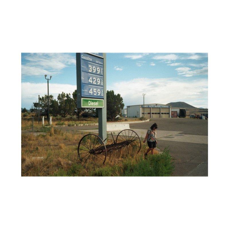 Utah Gas Station Women's Zip-Up Hoody by zoegleitsman's Artist Shop
