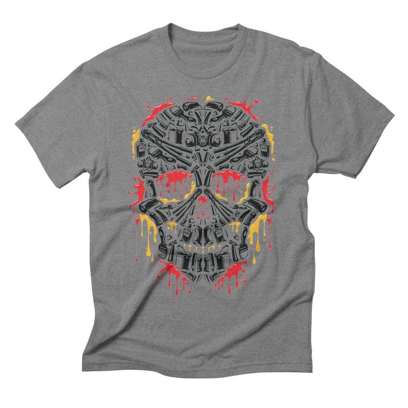 Sweet Streets Skull Men's T-Shirt by zoelone's Artist Shop