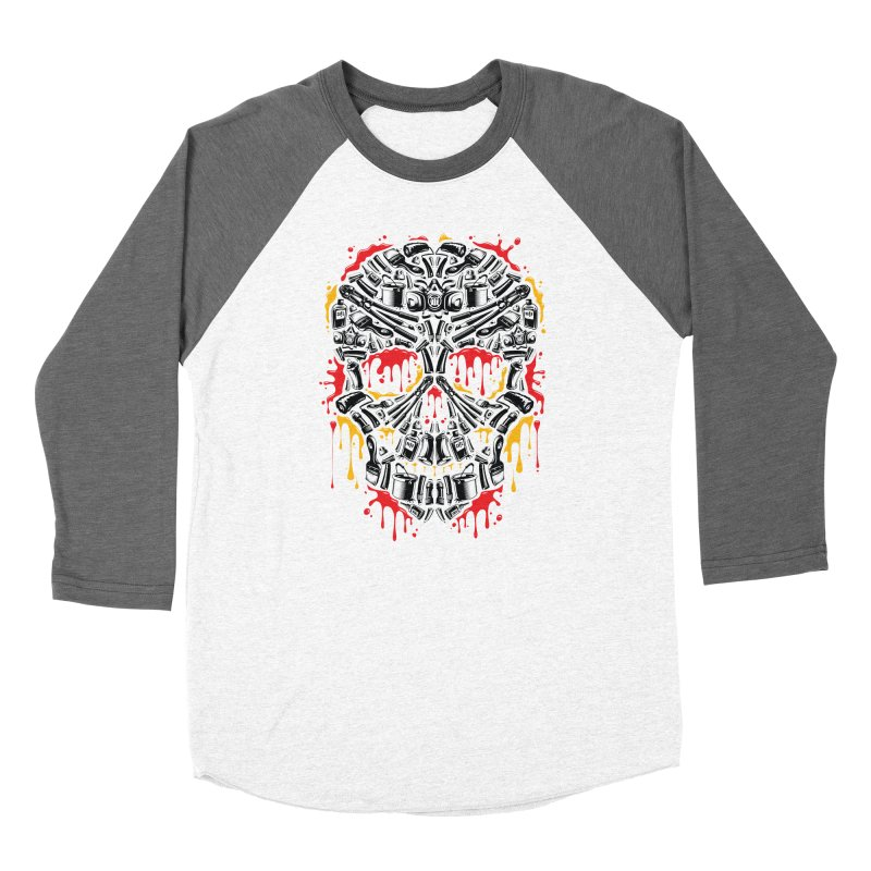Sweet Streets Skull Women's Longsleeve T-Shirt by zoelone's Artist Shop
