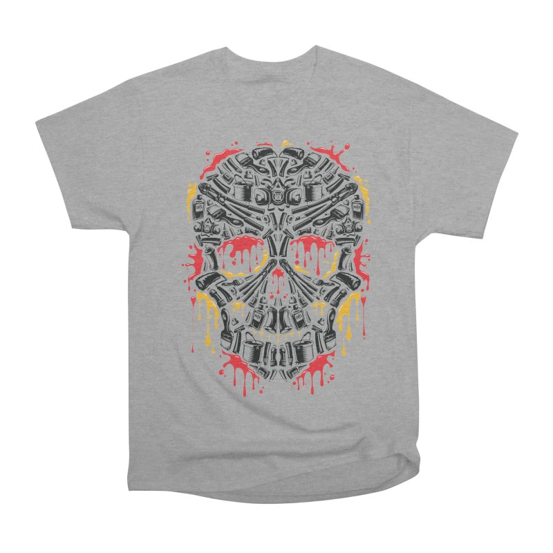 Sweet Streets Skull Men's Classic T-Shirt by zoelone's Artist Shop