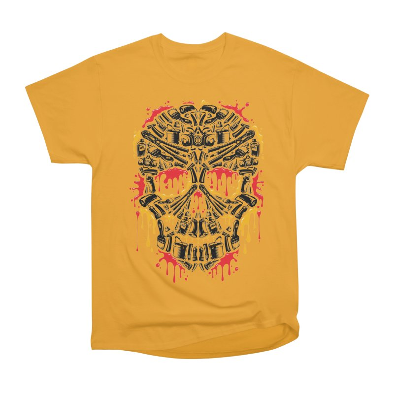 Sweet Streets Skull Women's Classic Unisex T-Shirt by zoelone's Artist Shop
