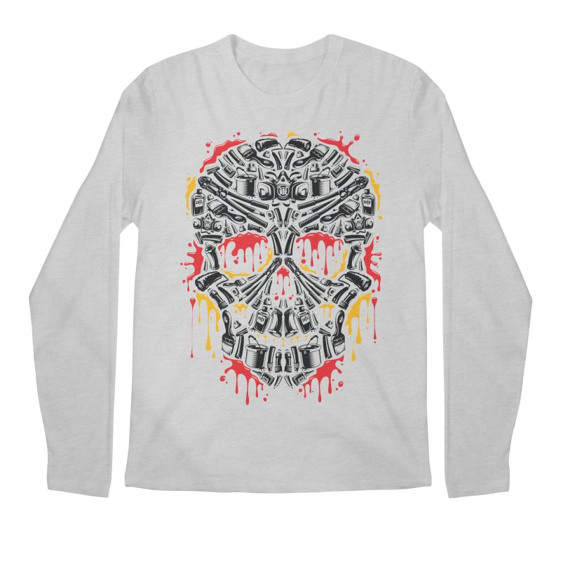 Sweet Streets Skull Men's Regular Longsleeve T-Shirt by zoelone's Artist Shop
