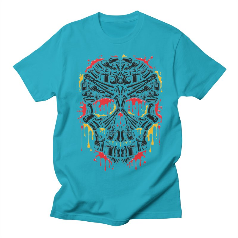 Sweet Streets Skull Women's Regular Unisex T-Shirt by zoelone's Artist Shop