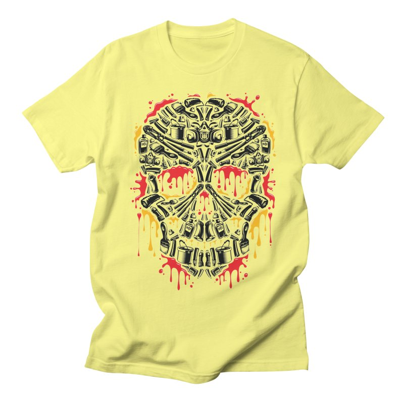 Sweet Streets Skull Women's Regular Unisex T-Shirt by zoelone's Artist Shop
