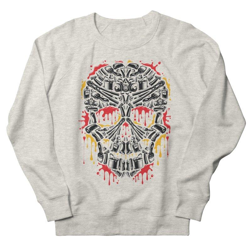 Sweet Streets Skull Men's Sweatshirt by zoelone's Artist Shop