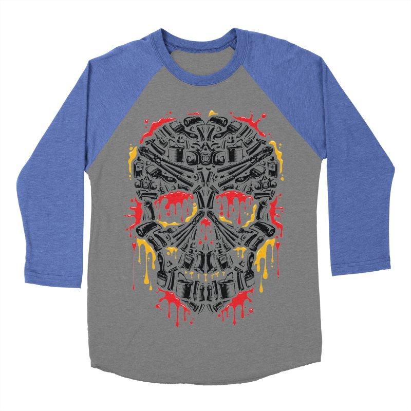 Sweet Streets Skull Women's Baseball Triblend T-Shirt by zoelone's Artist Shop