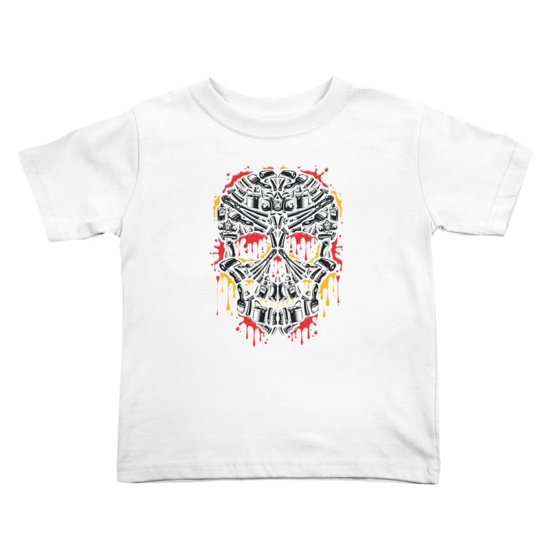 Sweet Streets Skull Kids Toddler T-Shirt by zoelone's Artist Shop